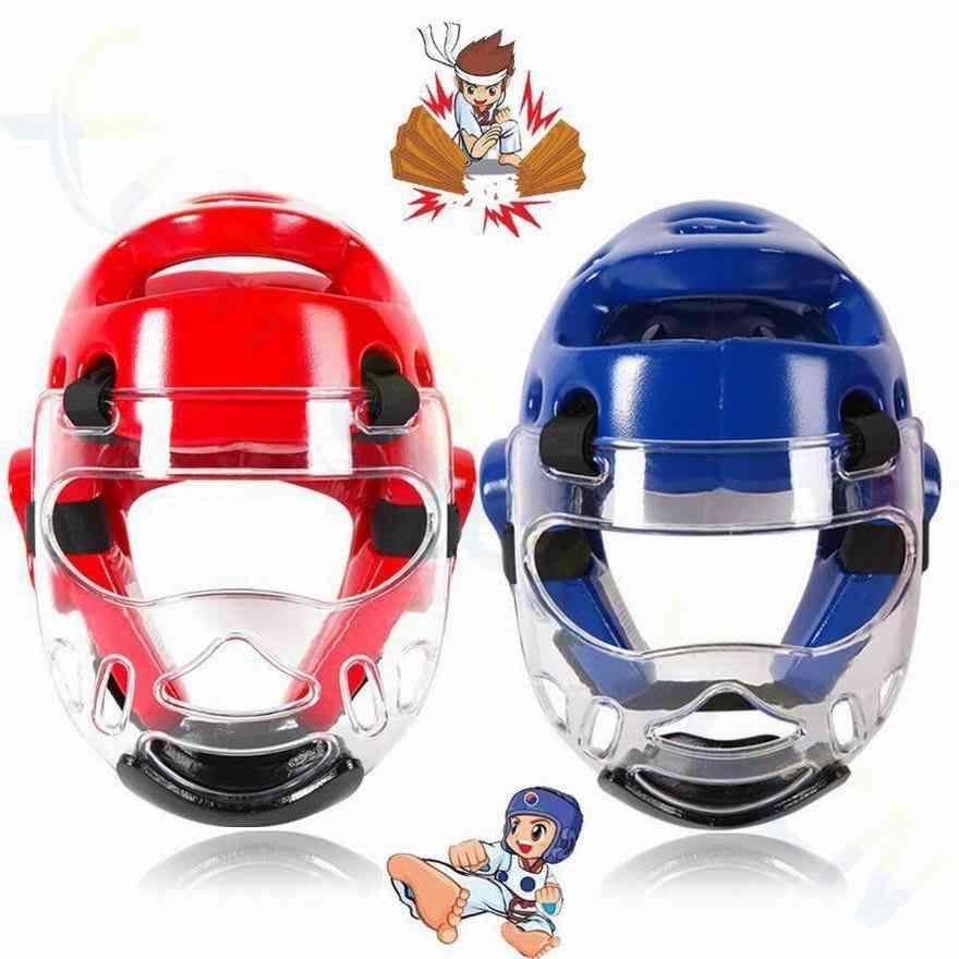 Adult Children Sanda Boxing Training Helmet