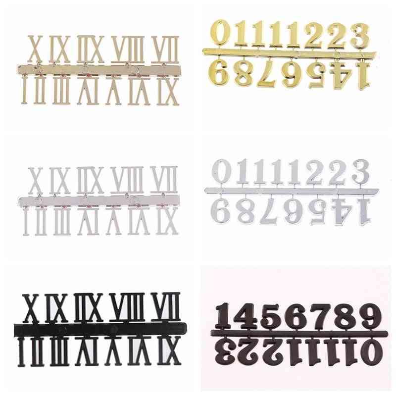 Roman Or Arabic Numerals Clock Accessories