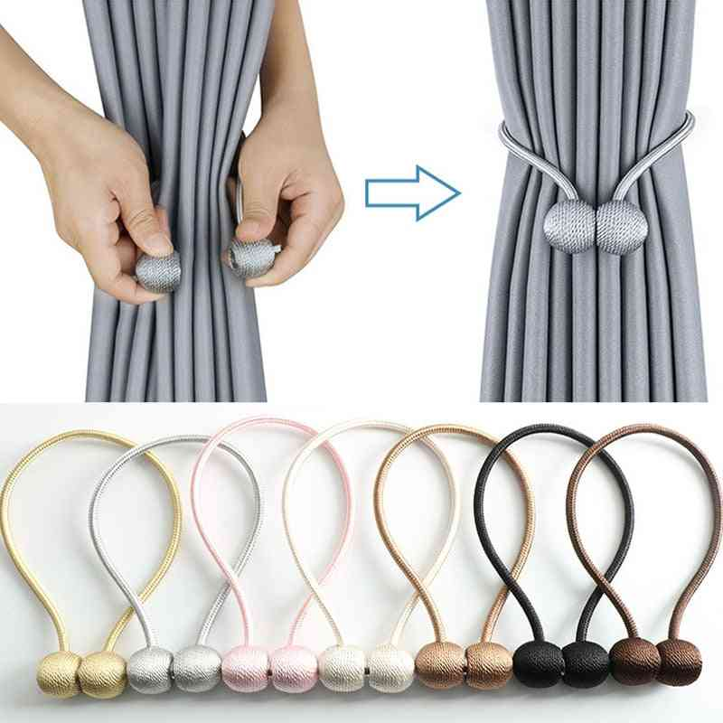 Pearl Curtain Small Magnetic Ball Tie Rope