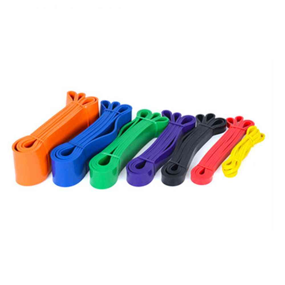 Exercise Elastic Natural Latex Workout Ruber Loop For Fitness Equipment Training Expander
