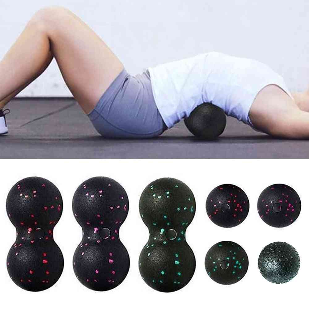 High Density Lightweight Fitness Body Fascia Exercise Relieve Pain Yoga Massage Ball