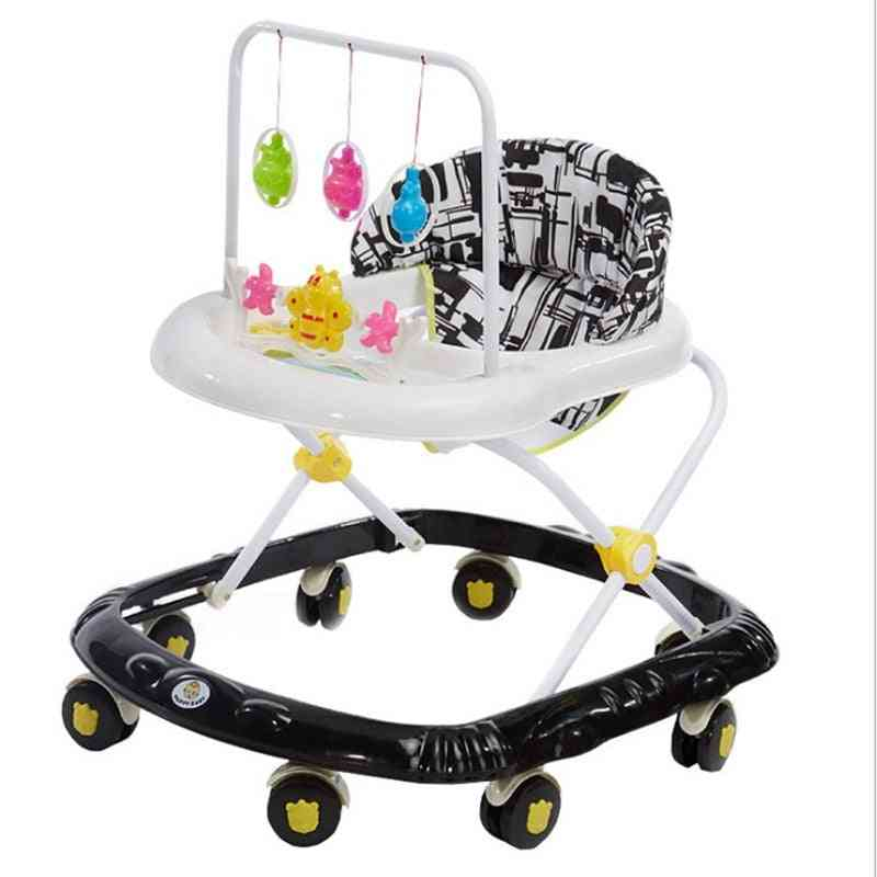 Multifunctional Anti-rollover Baby Walker 6-7-18 Months With Music