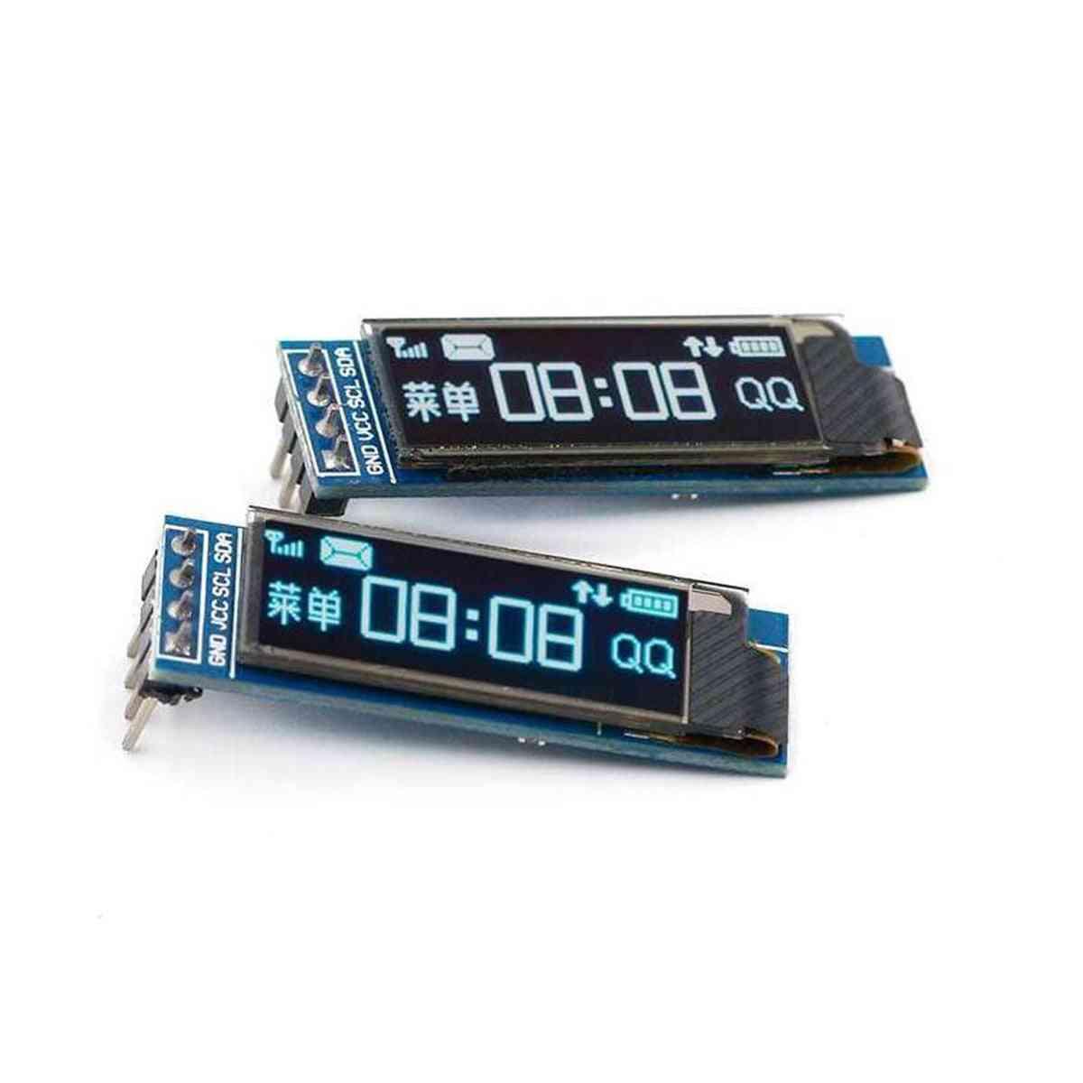 Oled 128x32 Lcd Led Display Ssd1306 12864 0.91 Iic I2c Communicate