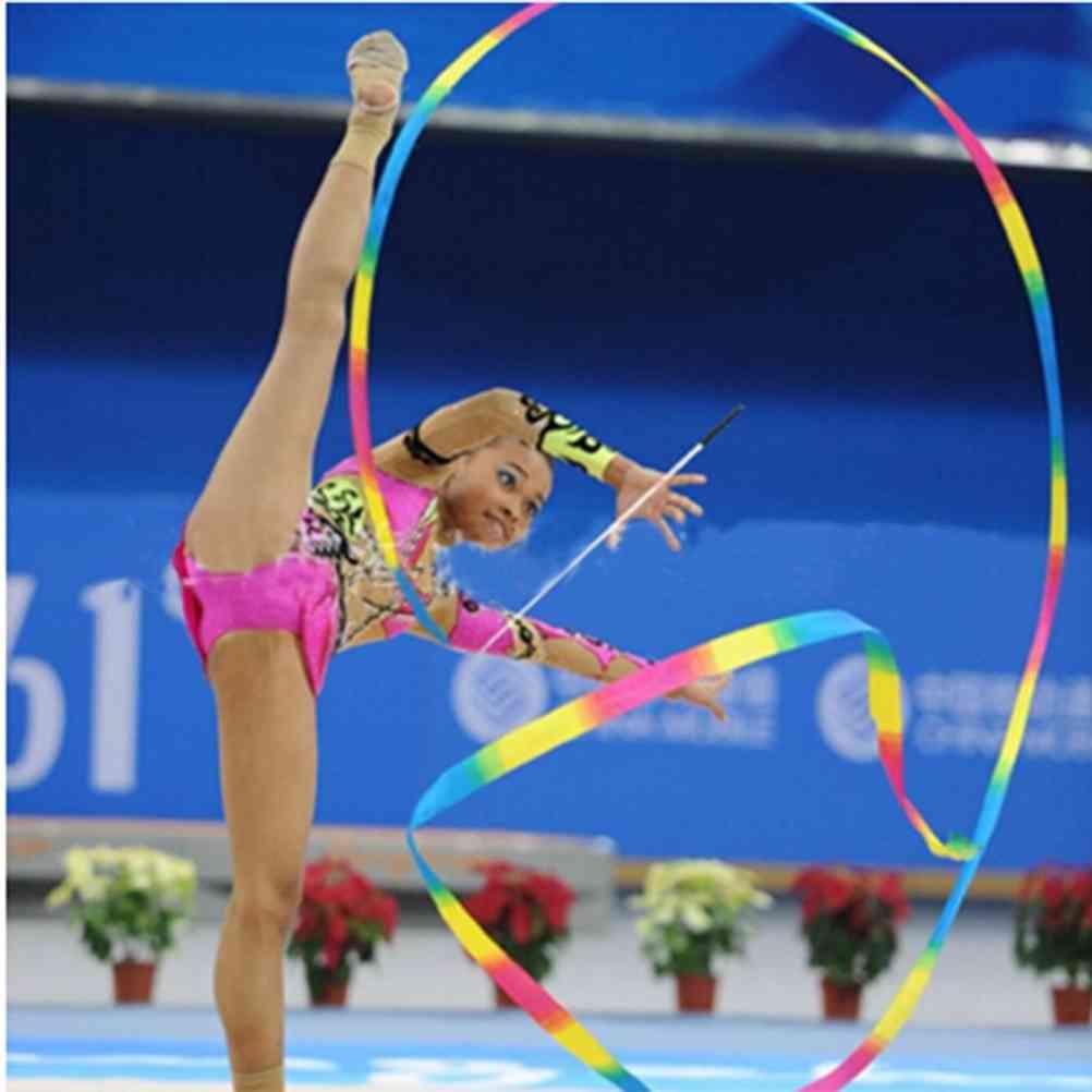 Dance Ribbon Gym Rhythmic Art Gymnastic Ballet Streamer