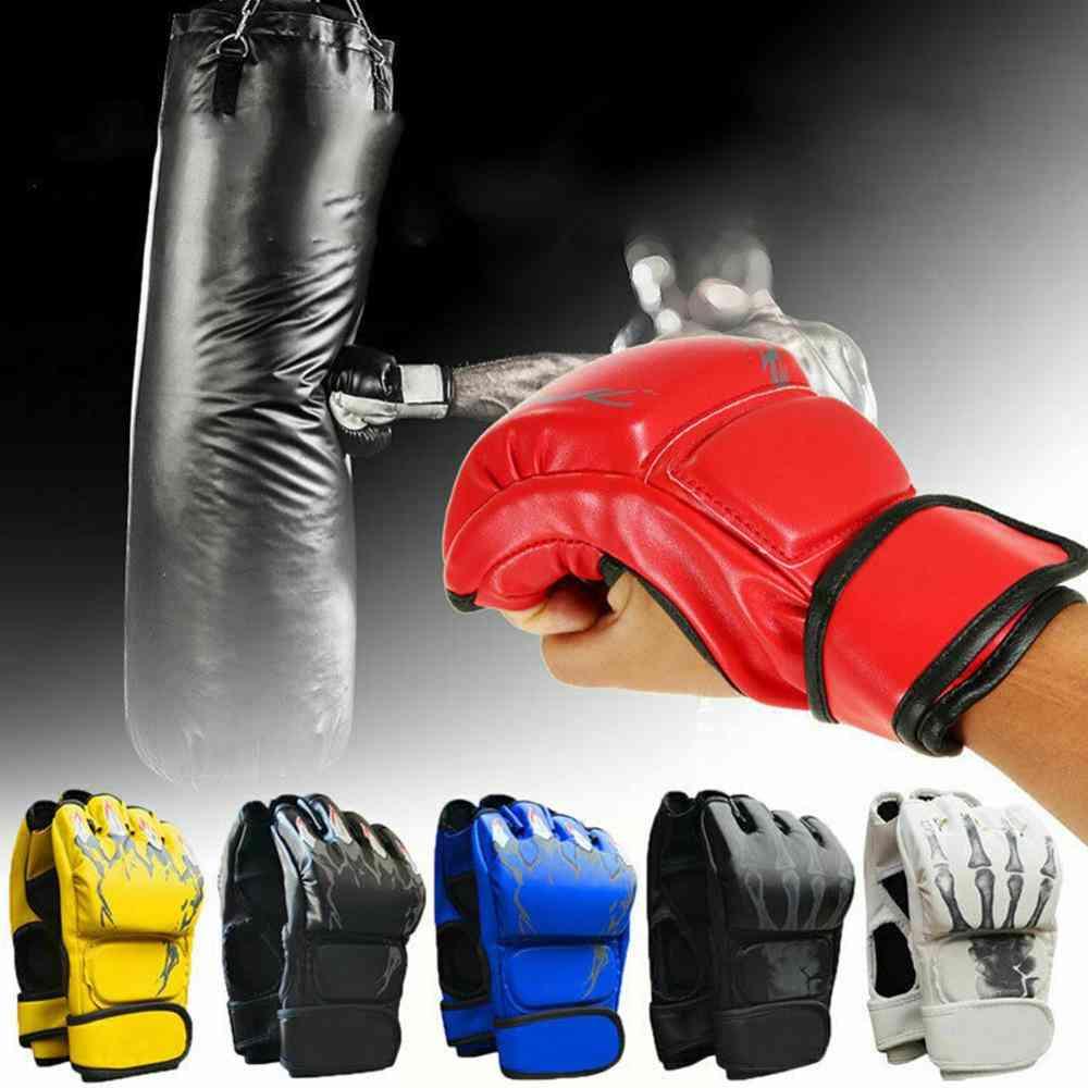 Half Finger Training Fighting Gloves