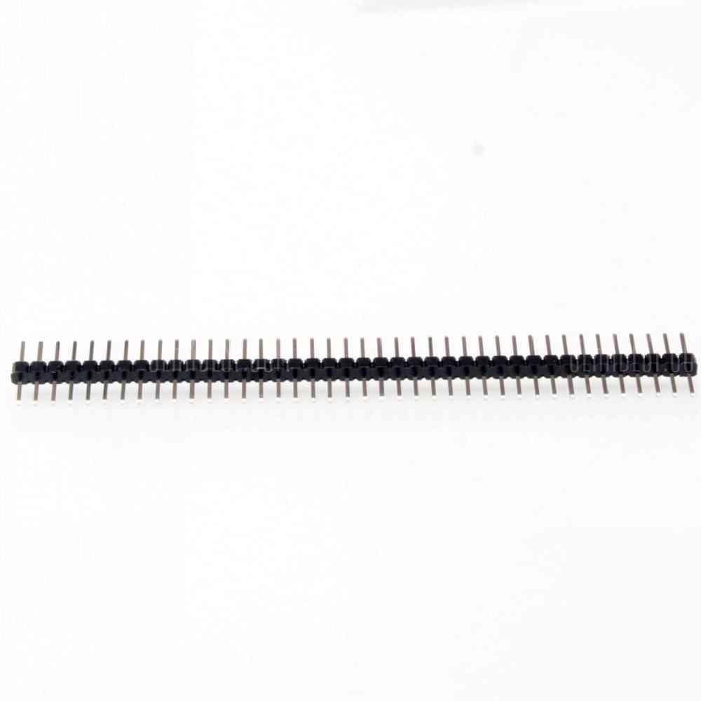 10pcs Break Away Headers - 40-pin Male ( Long Centered ) For Arduino