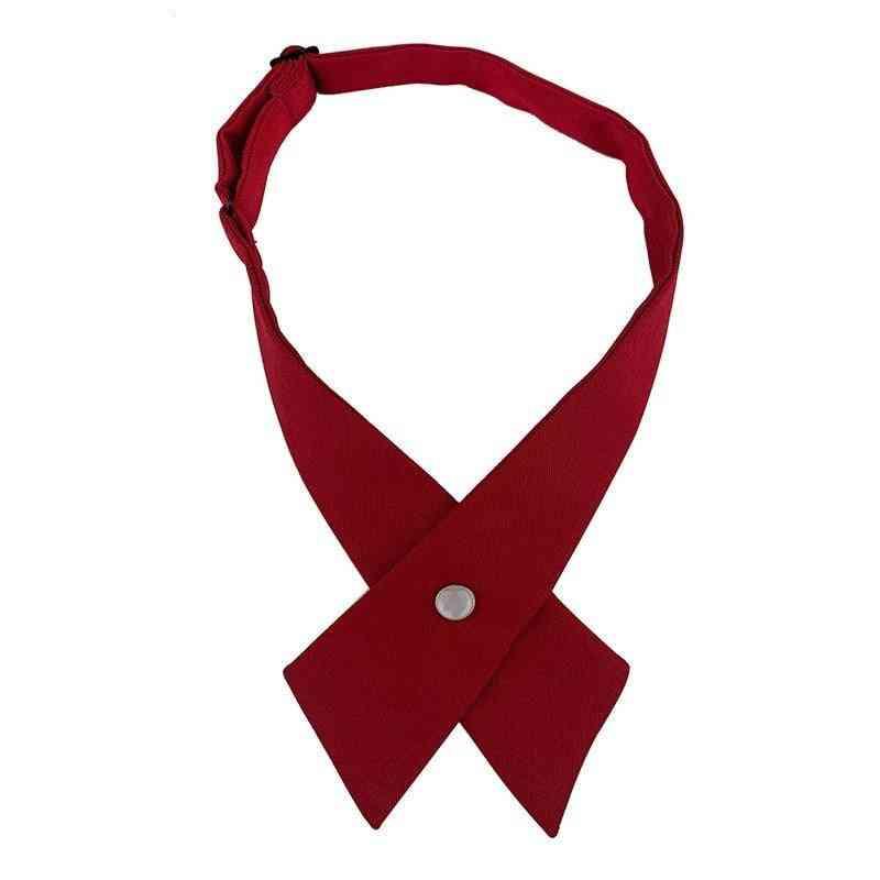 Women Tie Red Butterfly Women's Bow Tie