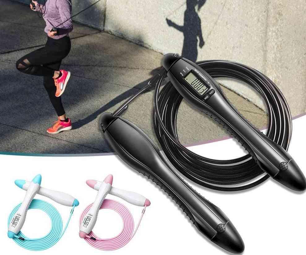 Men Women Weight Fitness Home Gym Speed Jump Rope