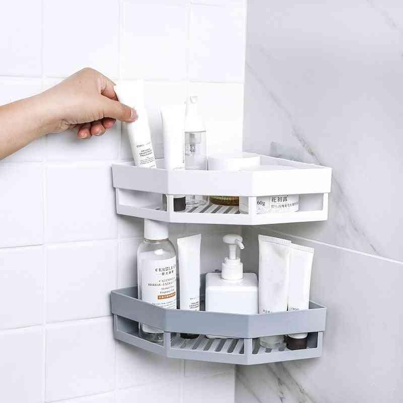 Punch-free Tripod Wall-mounted Corner Seamless Organizer