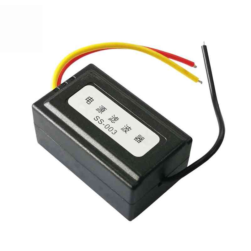 Dc 12v Power Supply Pre-wired Audio Power Filter For Car Vea22p Filtering