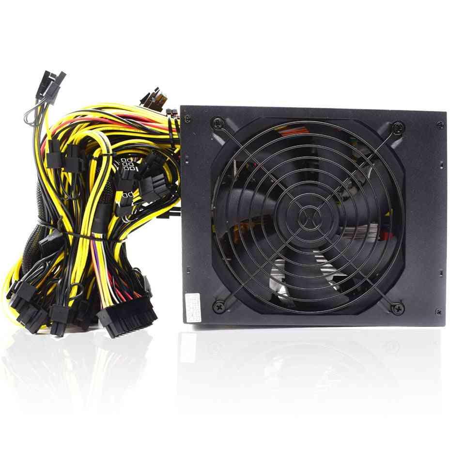 Computer Mining Rig 8 Gpu Atx Ethereum Coin 12v 4 Pin 2000w Bitcoin Power Supply