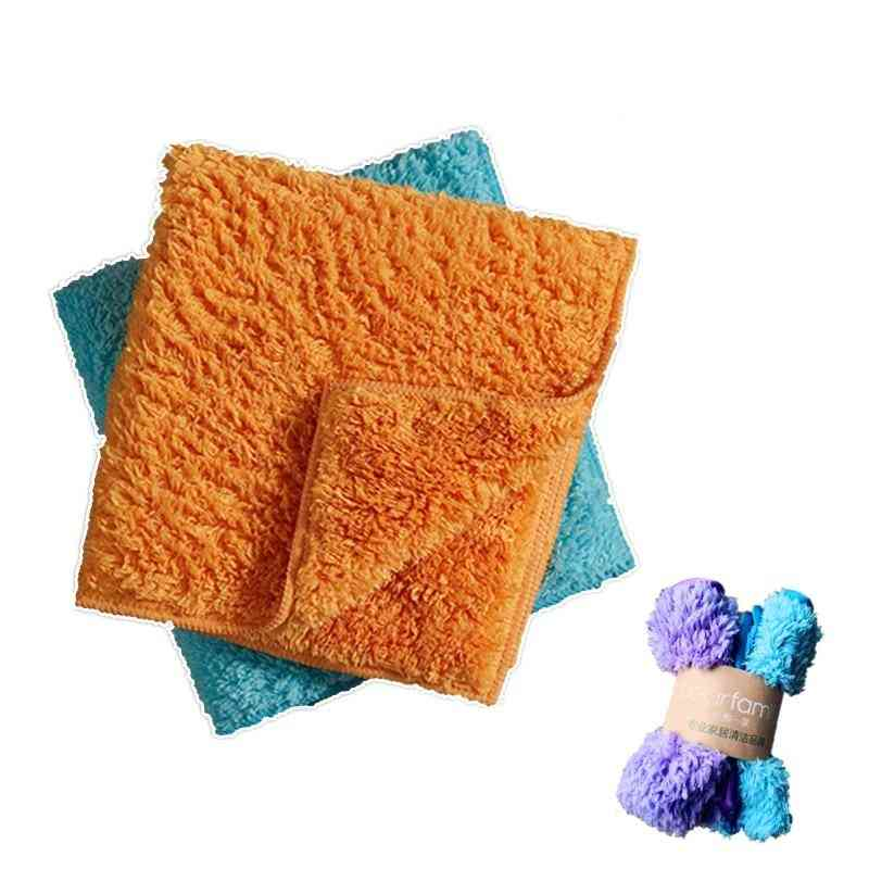 Super Absorbent  Soft Fluffy Microfibers Cleaning Cloth