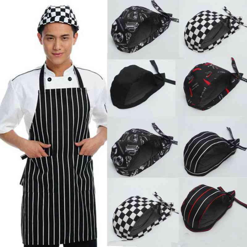 Hotel Bakey Cafe Waiter Breathable Cap
