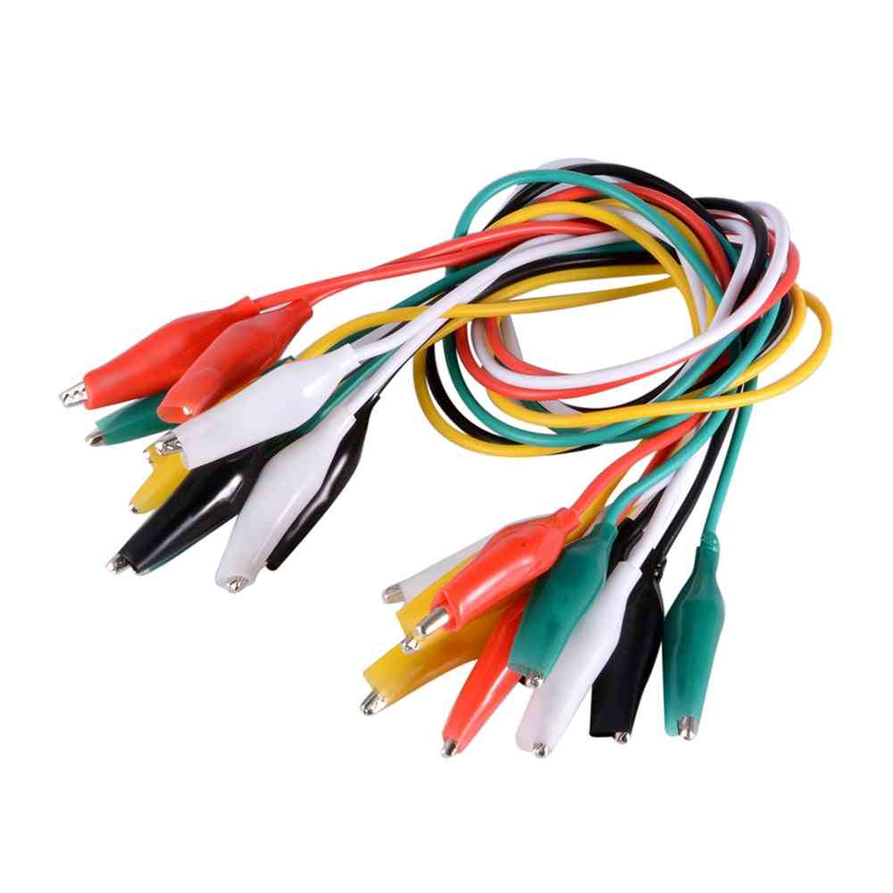 Jumper Wire Alligator Clips Double-ended Test Leads