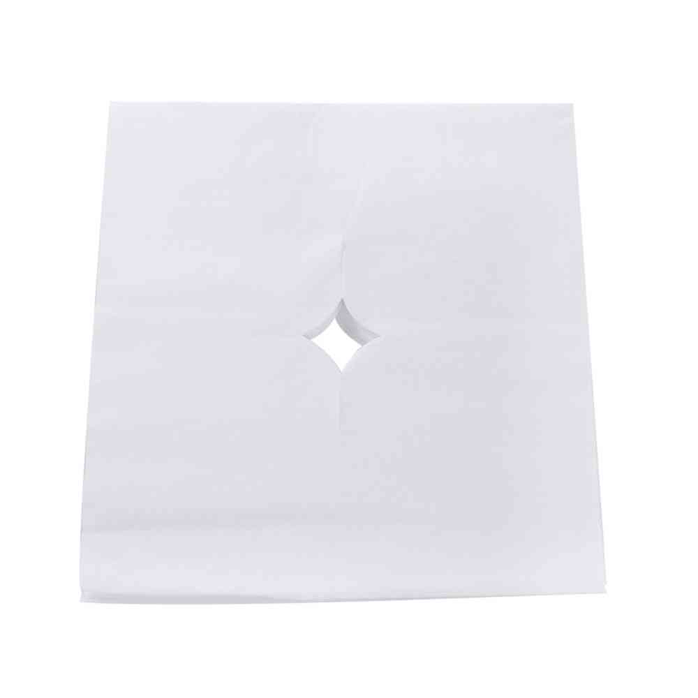 Salon Spa Massage Face Head Pad Bed Table Hole Cover Disposable Soft Breathing Massage Therapists