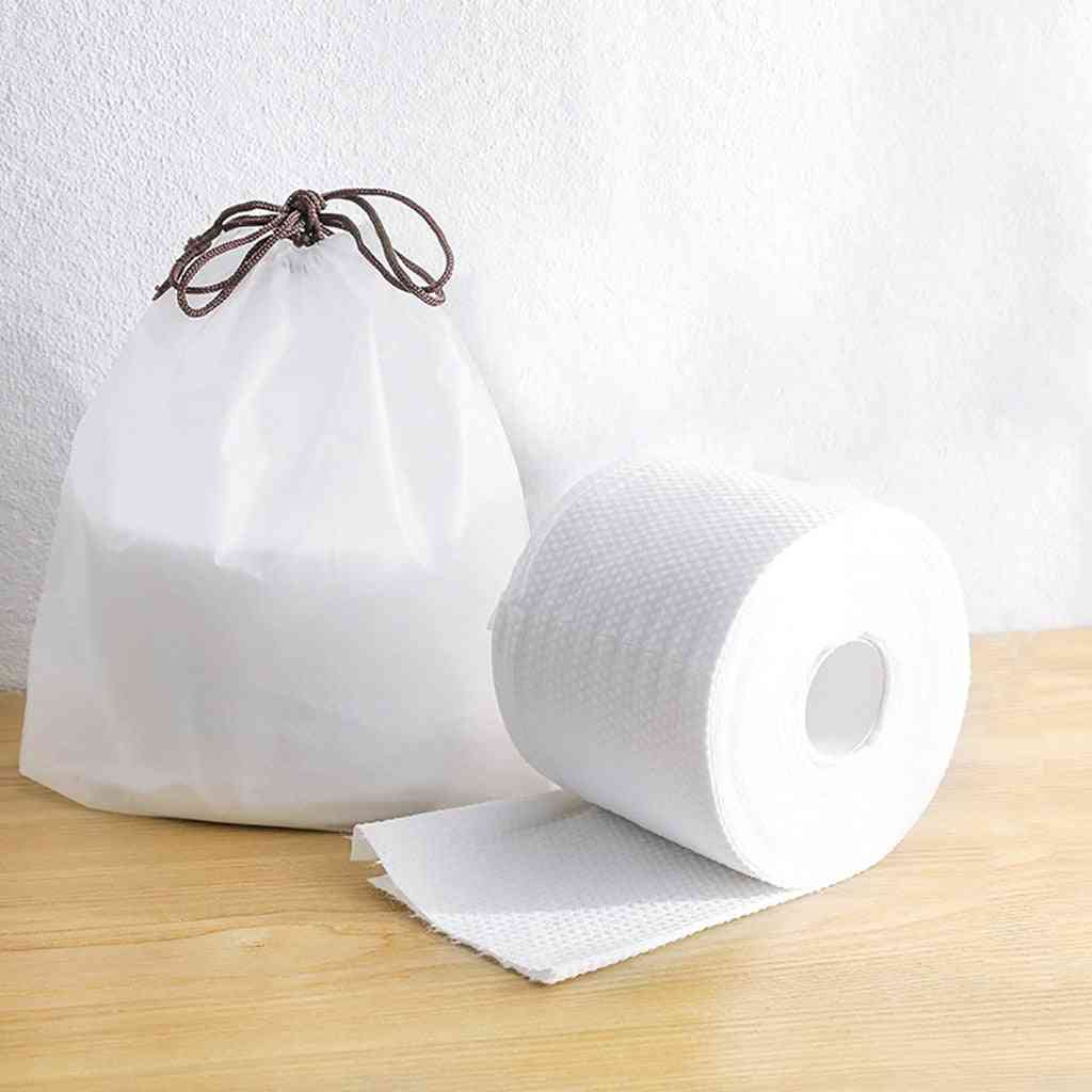 Disposable Paper Face Towel Oil Absorbing Paper Makeup Cotton For Washing Face Breathable Blotting Handkerchief