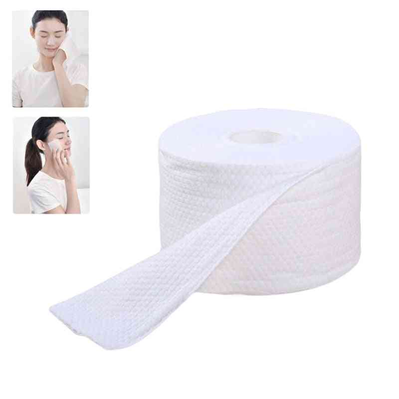 Disposable Face Towel Thick Cotton Facial Tissue Washcloth Makeup Remover Wipes