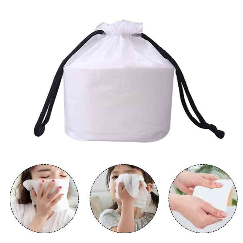 Disposable Face Towel Ultra Soft Thick Cotton Facial Tissue Washcloth Dry Wipes Makeup Remover Cleansing