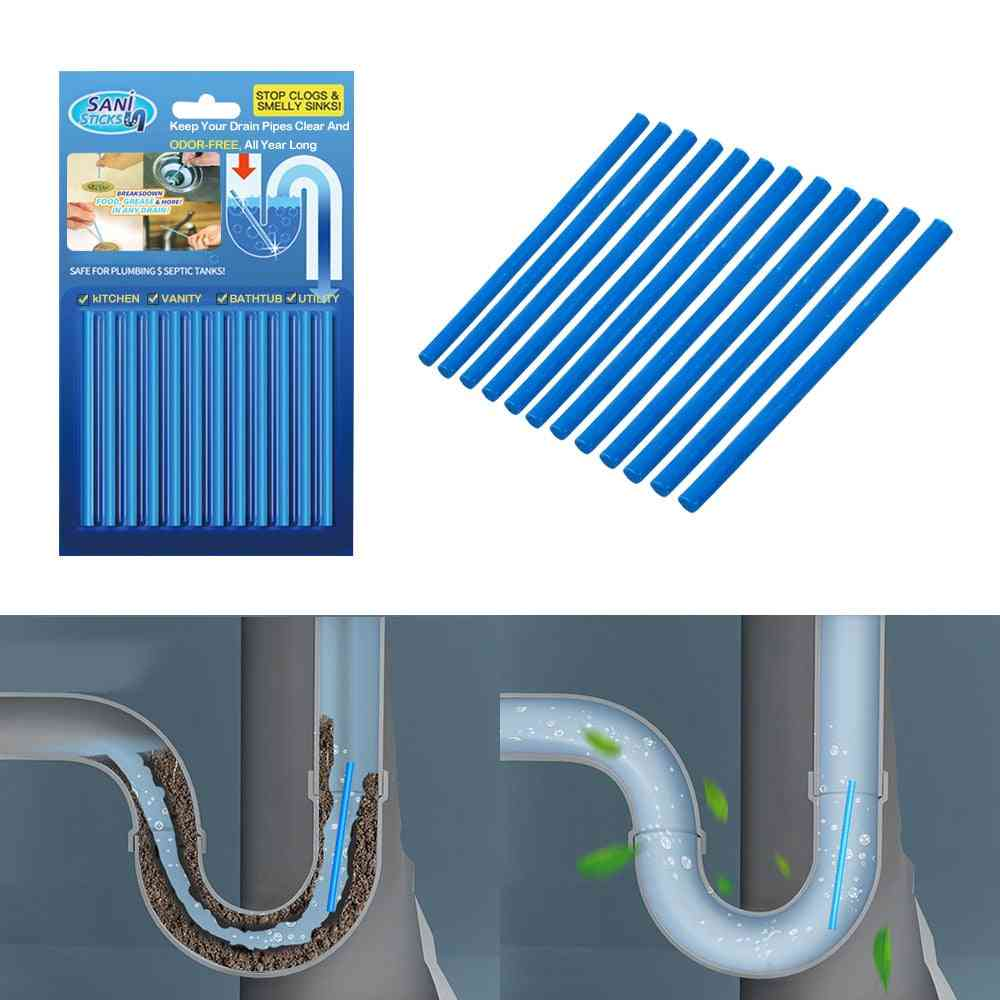Air Cleaner Household Merchandises Drain Toilet Pipe Cleaner Home Cleaning Sink Clogging Remover Tools