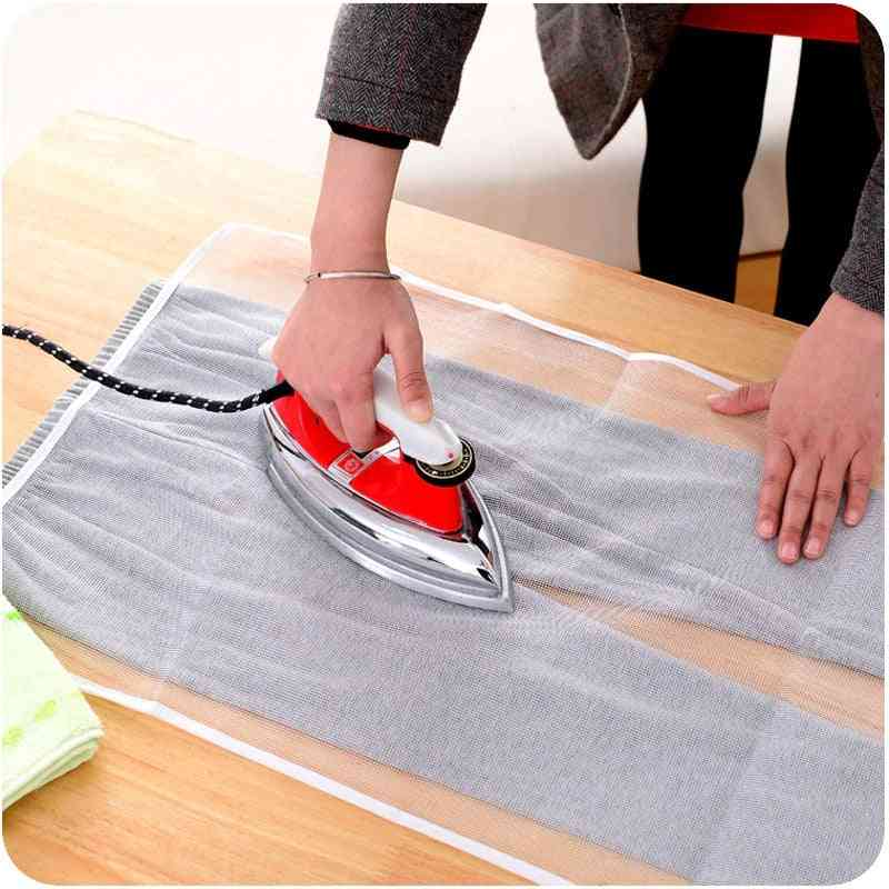 High Temperature Ironing Protection Pad Household Mesh Cloth Ironing Board Protective Insulation Against Pressing