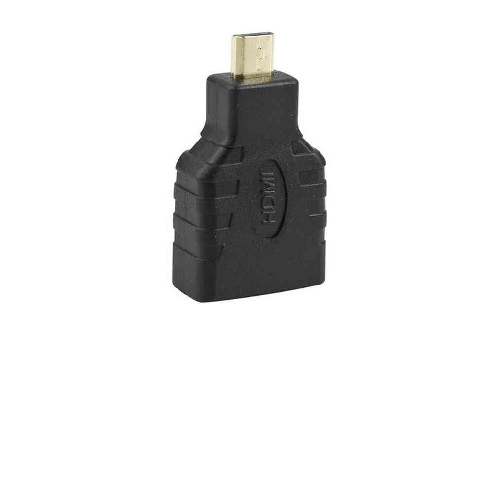 Hdmi-compatible Female To Micro Hdmi Converter Adapter Connector