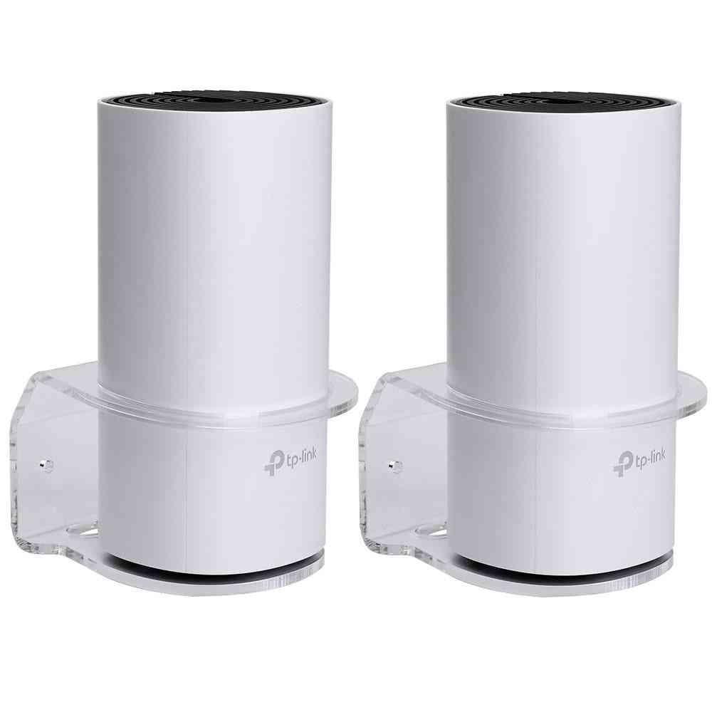 Home Wifi Router Shelf Acrylic Holder Transparent Bracket