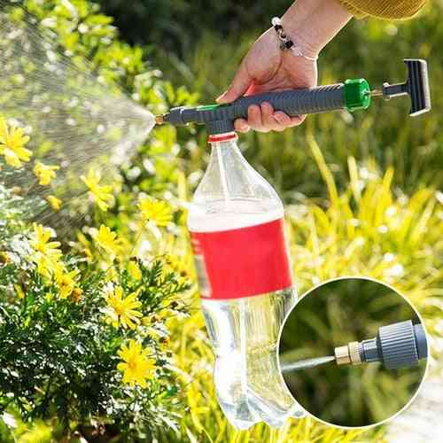Adjustable Trolley Gun Nozzle Watering Sprayer Head With Joint