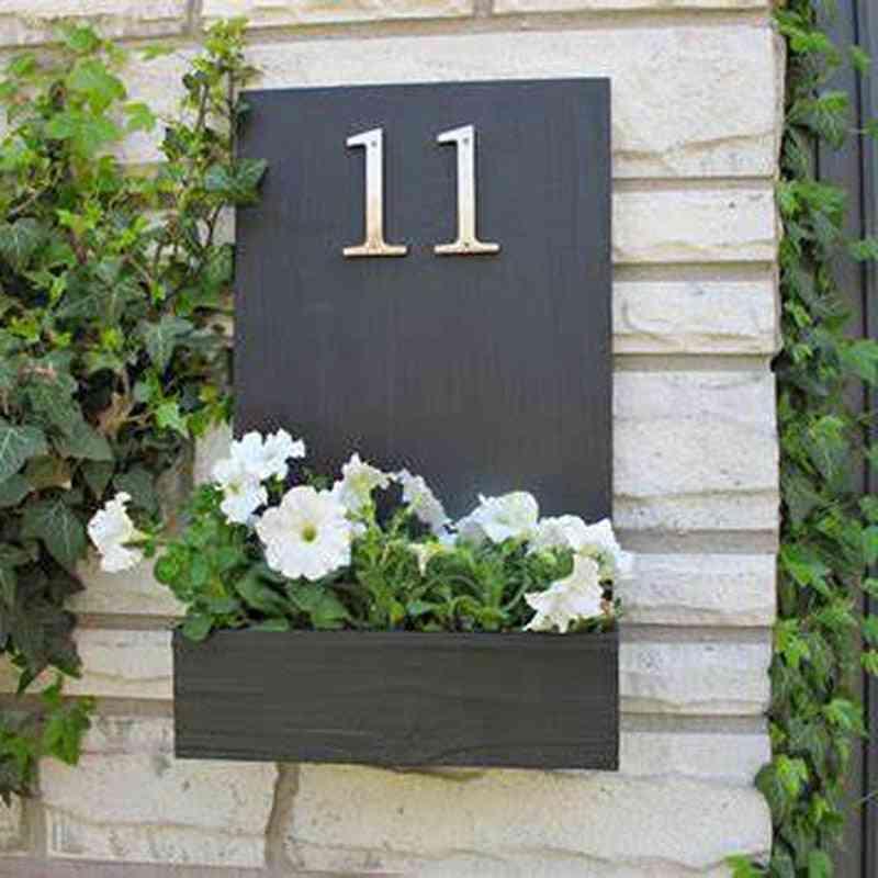 Big  House Number. Door. Home Address Mailbox Numbers. Digital Sign