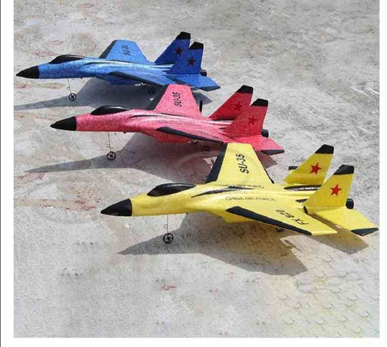Outdoor Rtf Tail Pusher Flyer Flying Model Foam Remote Control Glider Epp Toy Bubble Drop-resistant Craft Rc Airplanes