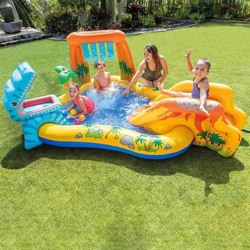 Summer Outdoor Inflatable Castle Inflatable Ocean Ball Paddling Pool Kids Swimming Pool Thickened Fishing Beach