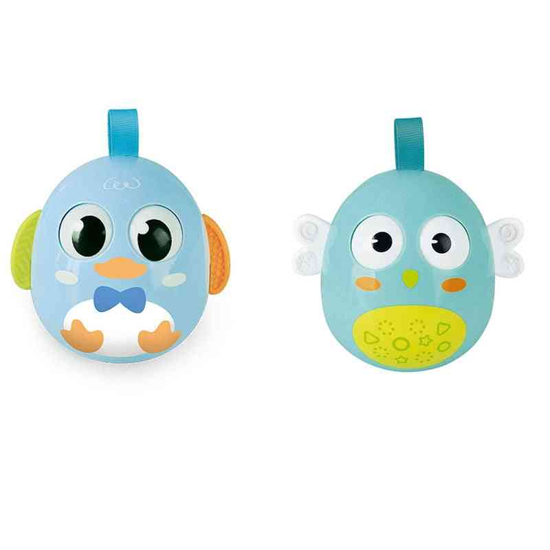 Baby Early Learning Crisp Ringtone Cute Chick Tumbler Education Puzzle Doll Waterway Dual-use Tumbler Xmas