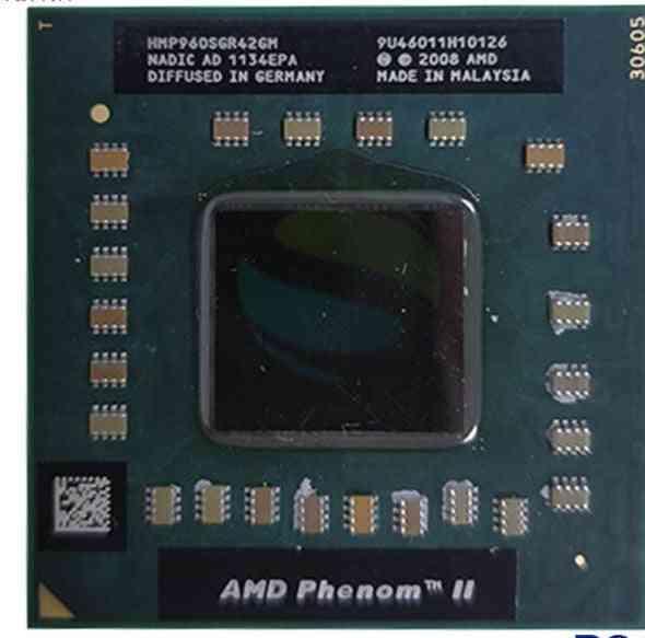 Amd Phenom Cpu Quad Core Cpu 1.8g Clocked 2m Socket S1 Notebook