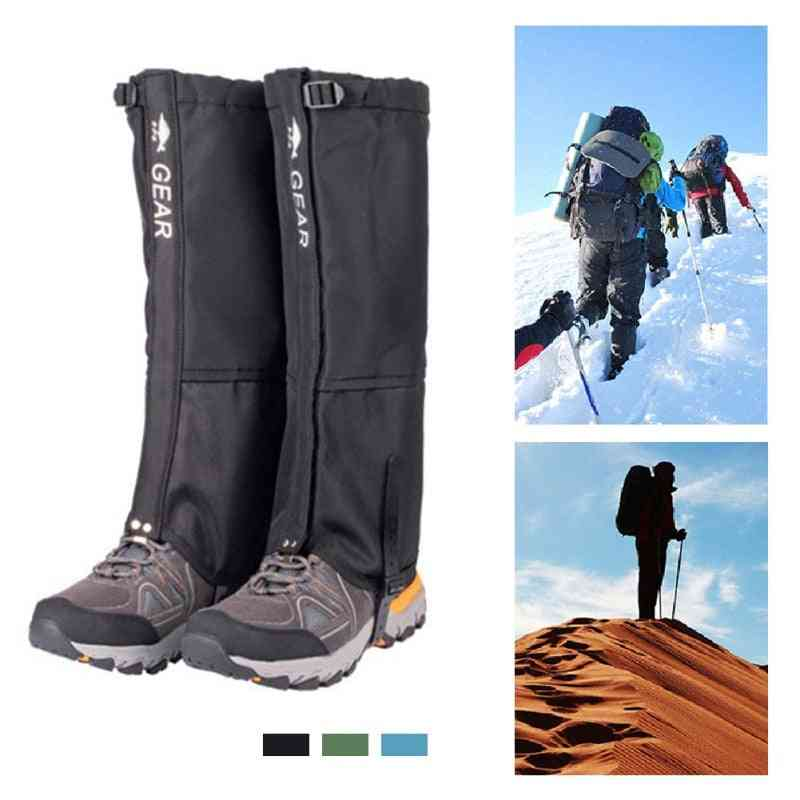 Outdoor Camping Hiking Climbing Waterproof Snow Legging Snow Boots Shoes