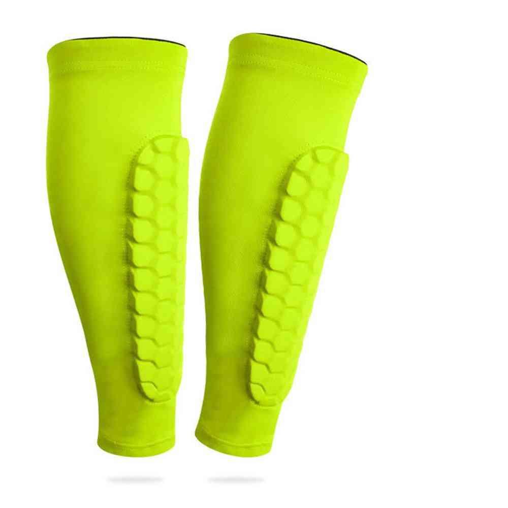 Soccer Shin Guard Football Legging Shin Pads Leg Sleeves