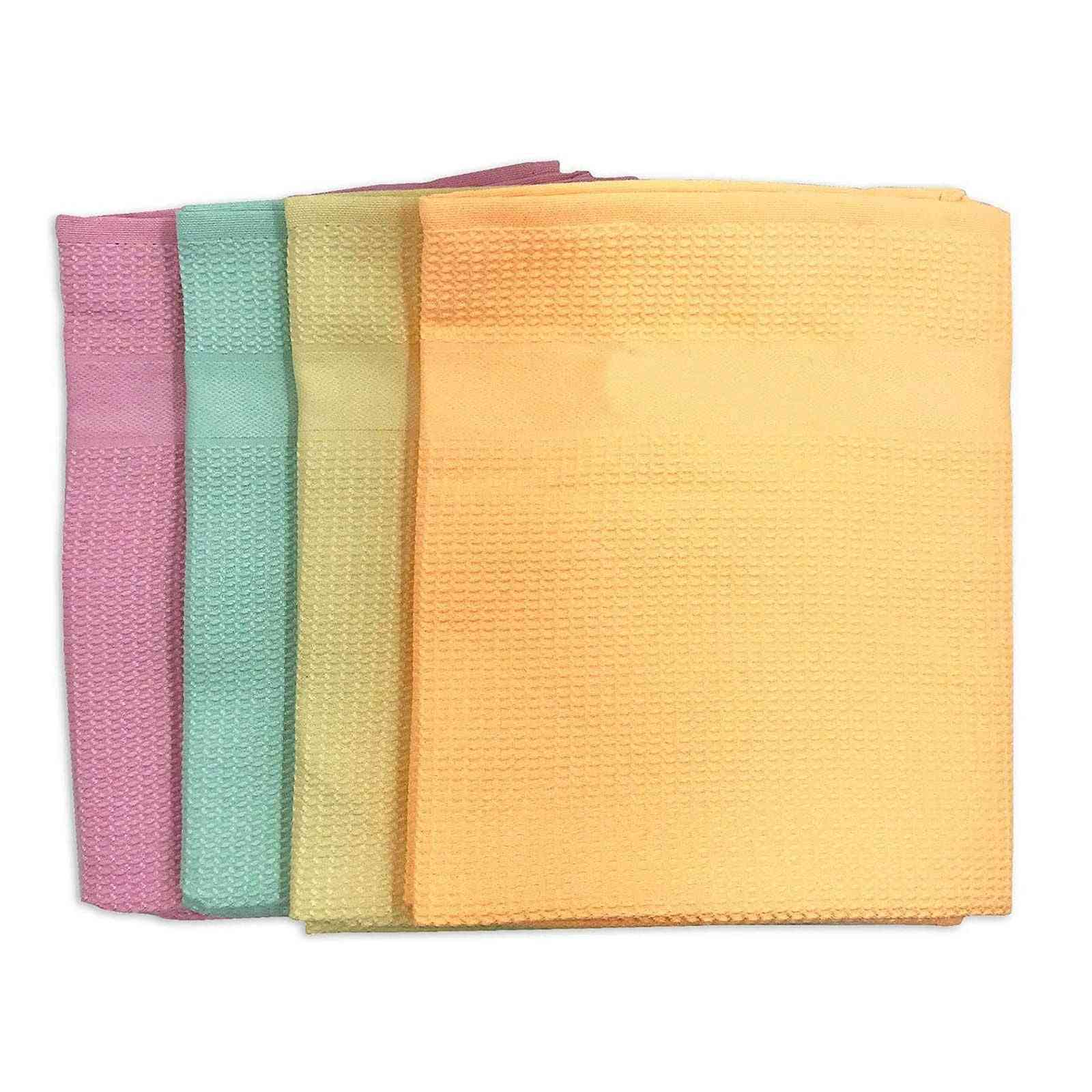 Microfiber Reusable Home Kitchen Wood Cleaning Cloth