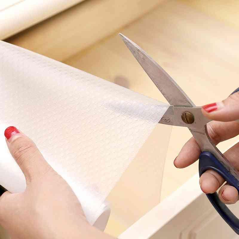 Reusable Transparent Contact Paper Drawer Mat