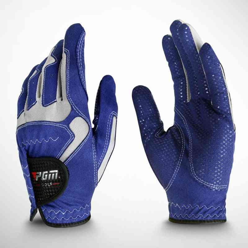 Men's Non Slip Particles Breathable Golf Glove