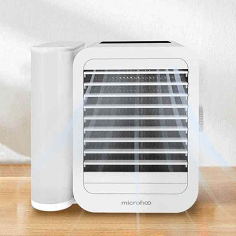 Portable Air Conditioner Fan, Touch-screen Cooling Fan