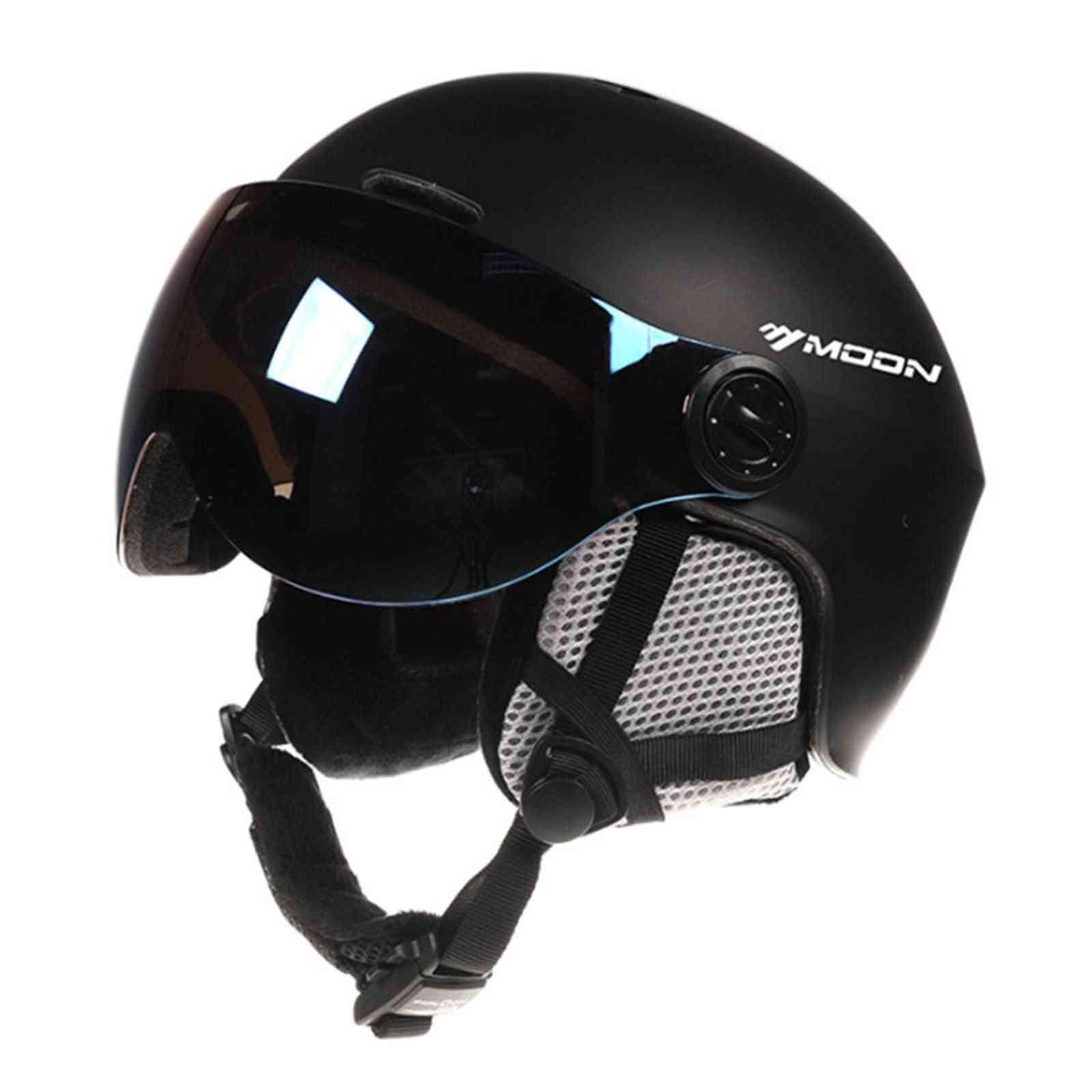 Ski Snowboard Helmet With Goggles