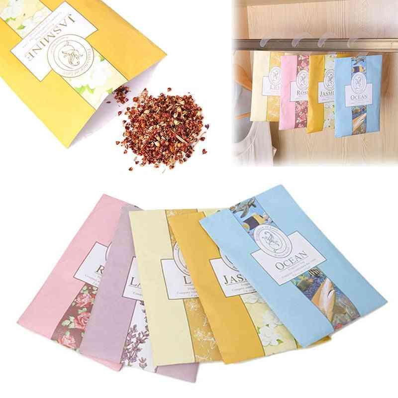 Aromatherapy Bag Anti-pest Air Lavender For Wardrobe Closet Car Hanging Fragrant Sachet Air Freshener Home Scents