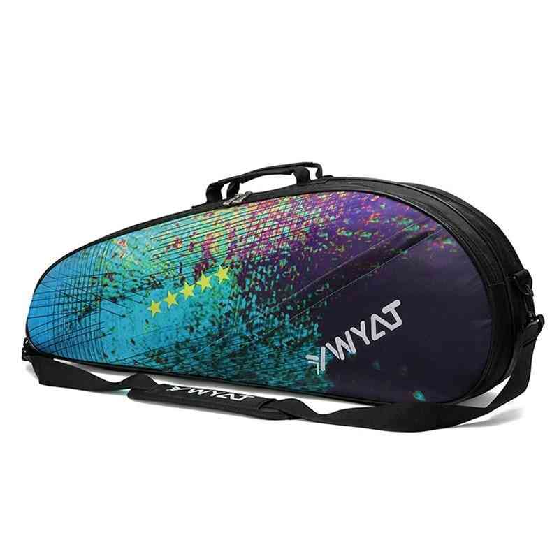 Colorful Camouflage Tennis Bag