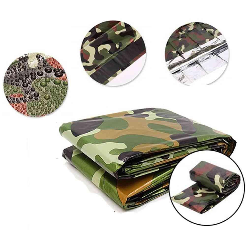 Emergency Survival Sleeping Bag, Waterproof Camouflage Bag