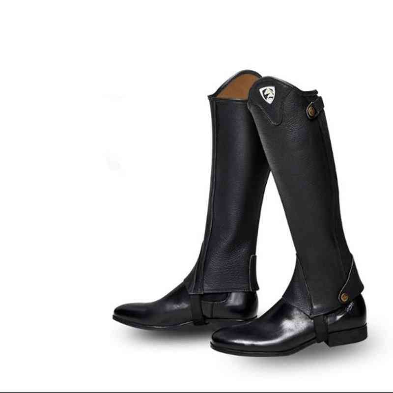 Cow Leather Lengthening Chaps For Horse Riding