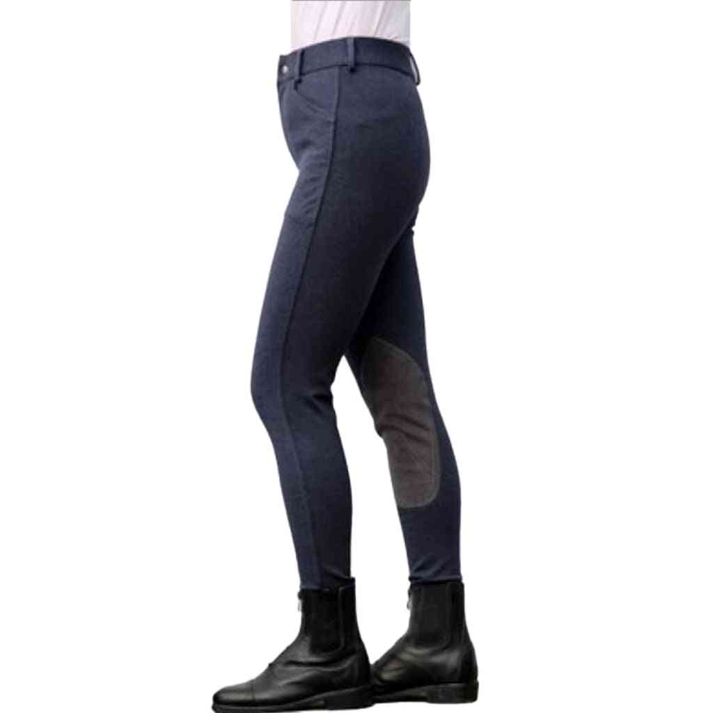Cotton Stretchy Breeches Horse Riding Pants
