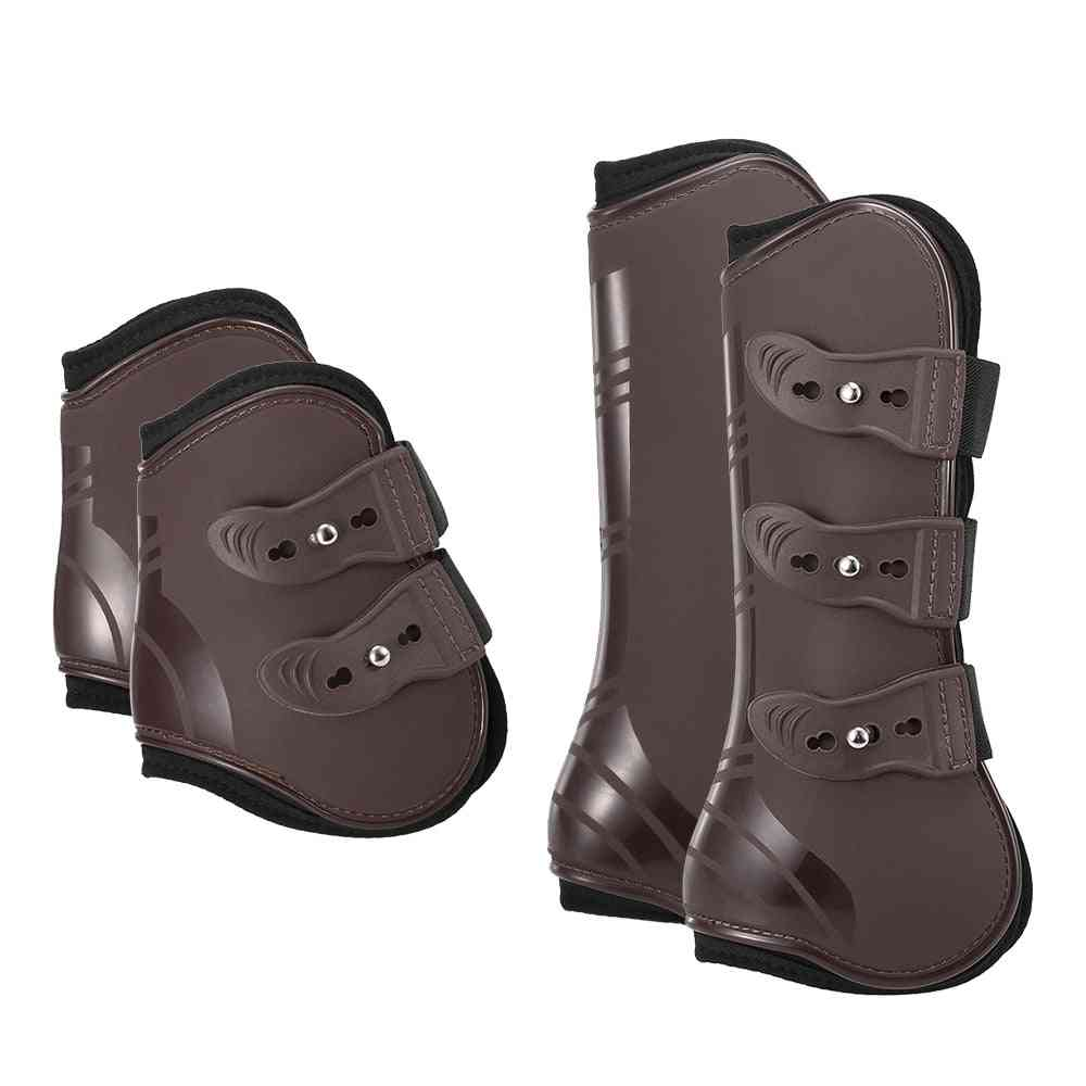 Front Hind Horse Leg Boots Guard Protection