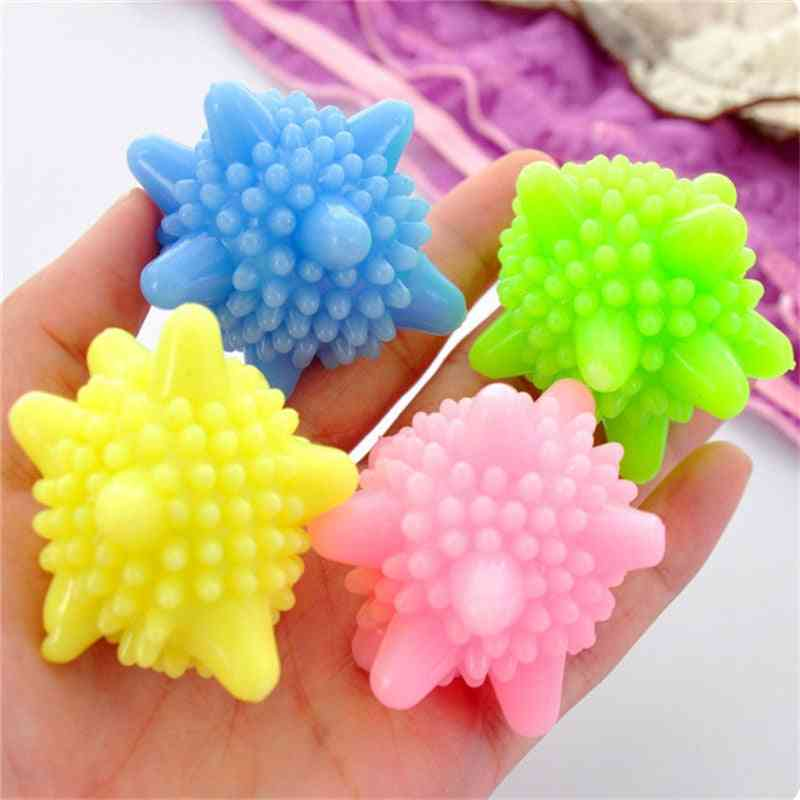 Softener Starfish Shape Pvc Reusable Solid Cleaning Ball