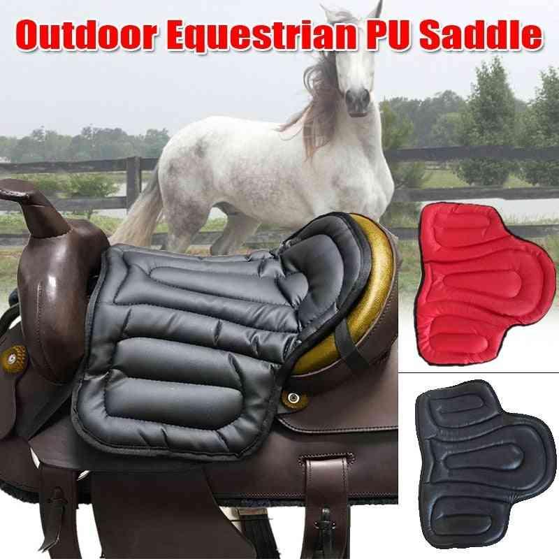 Non-slip Pu Leather Horse Saddle Pads