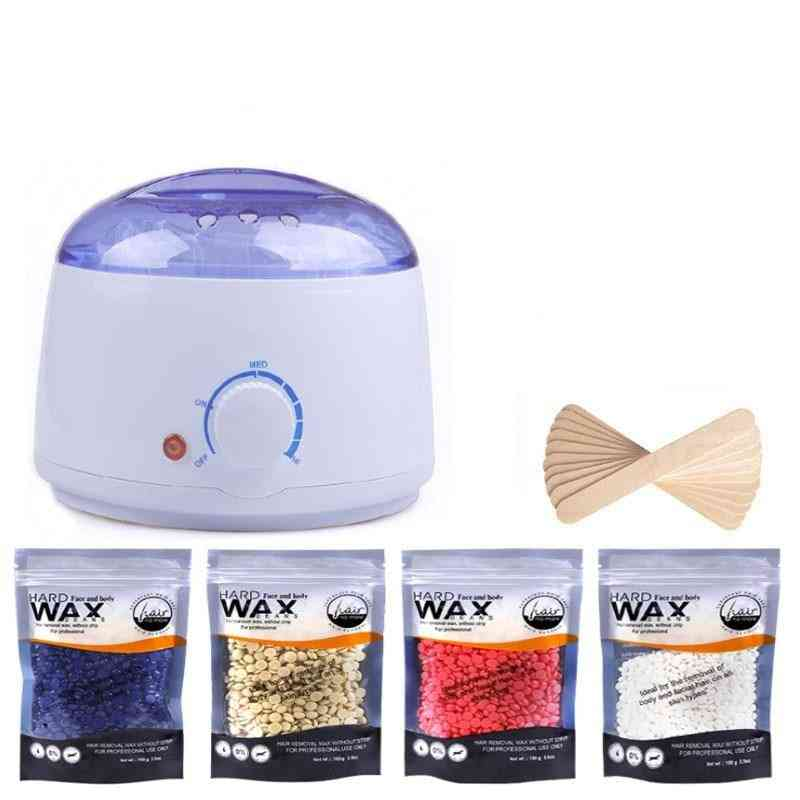 Hair Removal Wax Beans Wood Stickers Wax Melter Machine