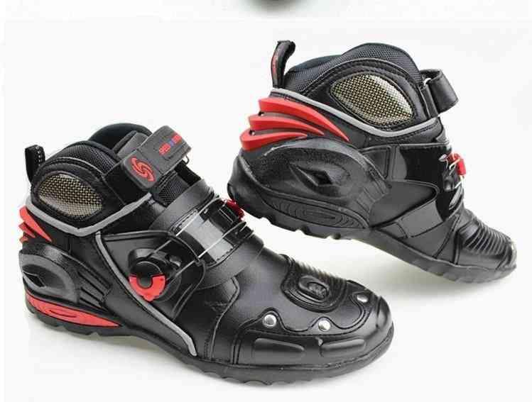 Motorcycle Automobile Race Shoe Boots