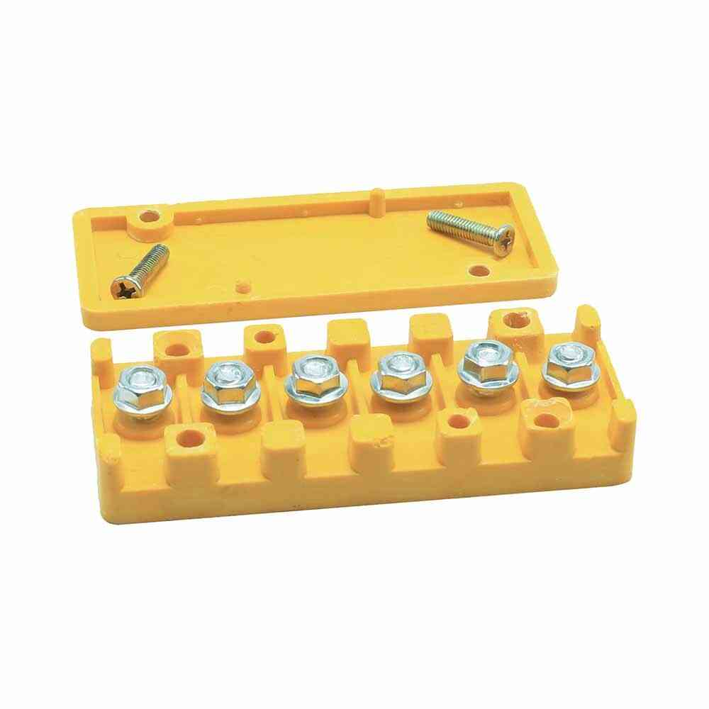 Wire Connector Electric Barrier Terminal Board Block Strip